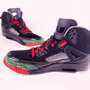 Nike Air Jordan Spizike Size 11.5 Black/Green